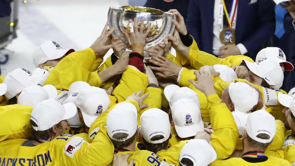 La Suède a remporté son dixième titre mondial.
