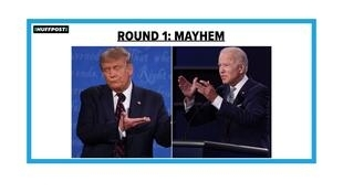 Premier débat télévisé entre Donald Trump et Joe Biden