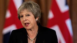 La primera ministra del Reino Unido presentó un balance de la reunión de Salzburgo el 21 de septiembre y exigió respeto a los representantes de la UE.