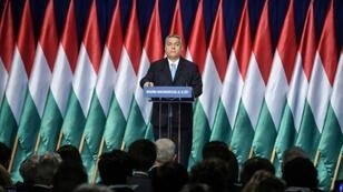 Hungarian Prime Minister Viktor Orban framed the European elections as a choice between Brussels bureaucrats under the sway of 'money men' and sovereign nation states defending 'tradition' and 'Christianity'