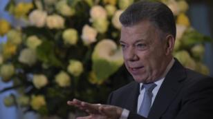 Le président colombien sortant, Juan Manuel Santos.