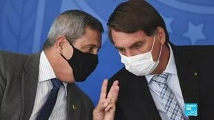 2021-03-30 09:13 Brazil's Bolsonaro replaces six ministers in sweeping cabinet reshuffle