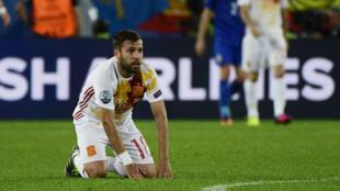 Battue par la Croatie, l'Espagne termine deuxième de son groupe.