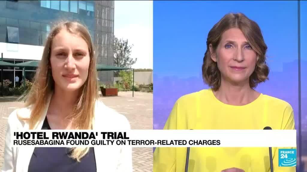 2021-09-20 13:31 Rwandan court finds 'Hotel Rwanda' film hero guilty in terrorism case