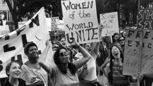 Manifestation du Mouvement de libération des femmes à Washington, le 26 août 1970.