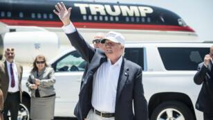 Durant la campagne présidentielle, Donald Trump avait effectué un seul déplacement à la frontière. C'était à Laredo, au Texas, en juillet2015.