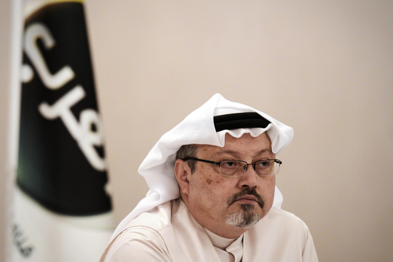 Imagen de archivo. El periodista saudita Jamal Khashoggi, el 15 de diciembre de 2014 en Manama, Bahrein.