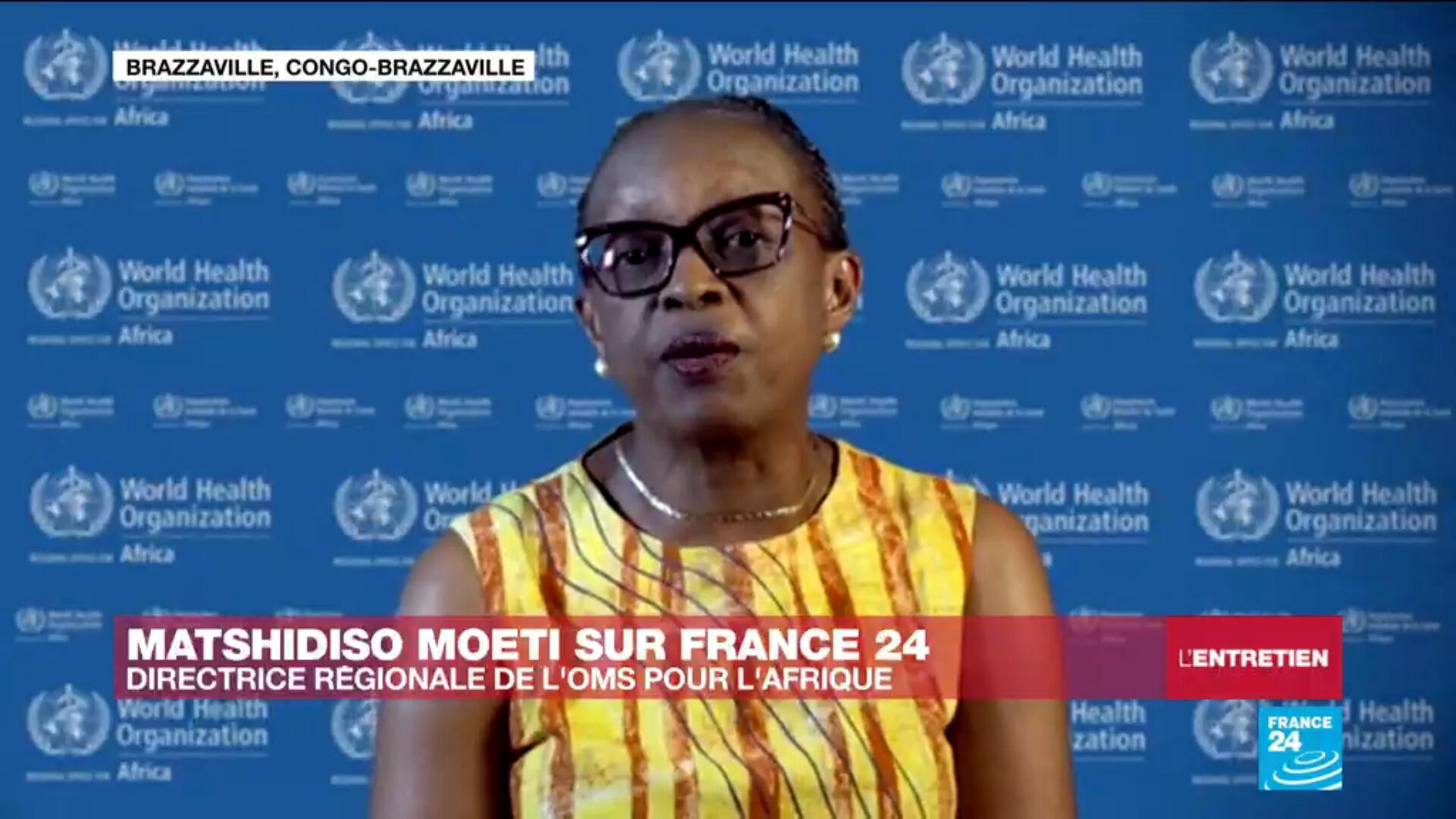 """Pour la directrice Afrique de l'OMS, Matshidiso Moeti, la situation en Afrique est """"très préoccupante"""" face au Covid-19"""