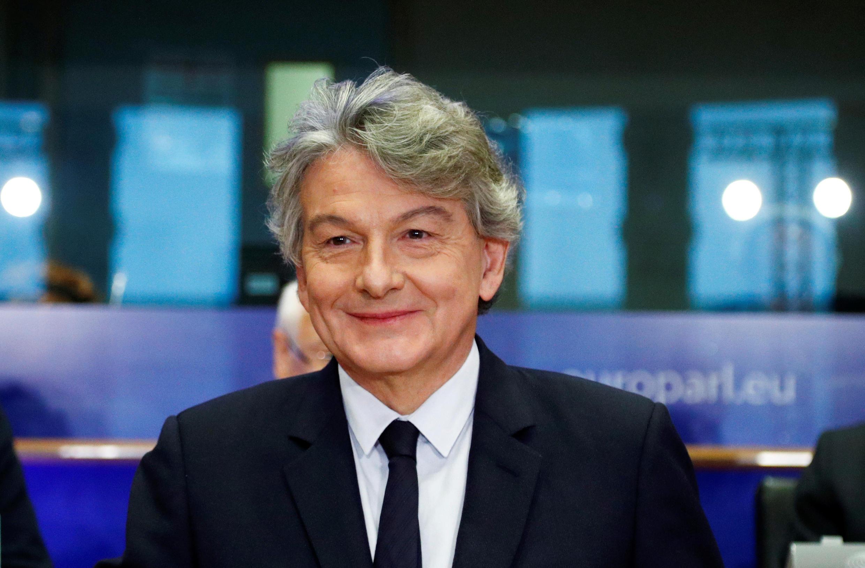 Le Commissaire européen aux marchés intérieurs désigné, Thierry Breton.