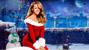 Mariah Carey, mère Noël préférée de l'Internet.