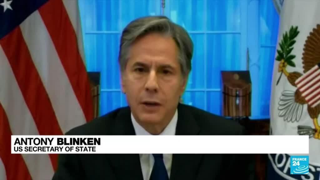 2021-09-14 08:08 Blinken defends Afghan withdrawal at angry US congressional hearing