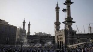 المسجد الكبير في مكة