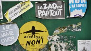 Le Premier ministre Édouard Philippe a annoncé, mercredi 17 janvier 2018, l'abandon du projet d'aéroport de Notre-Dame-des-Landes.