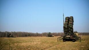 بطارية صواريخ باتريوت خلال مناورات عسكرية لحلف شمال الأطلسي
