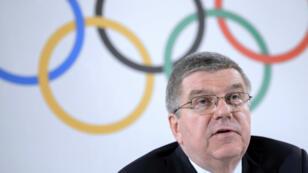 رئيس اللجنة الأولمبية الدولية توماس باخ