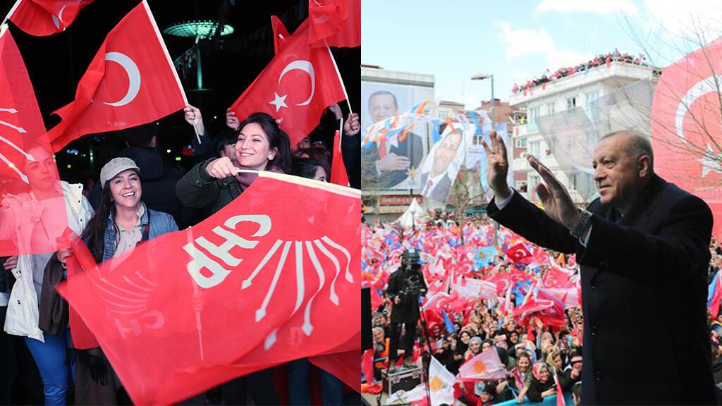 El Partido Republicano del Pueblo (CHP) ganó las elecciones locales en Ankara y Estambul y el partido Justicia y Desarrollo (AKP) ganó a nivel nacional.