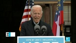 2020-12-16 09:07 US presidential transition: Biden urges Georgians to oust McConnell from Senate