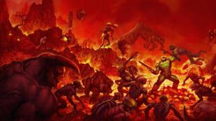 """Artwork de """"Doom"""""""