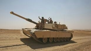 القوات العراقية تتقدم باتجاه تلعفر يوم 21 آب/اغسطس 2017