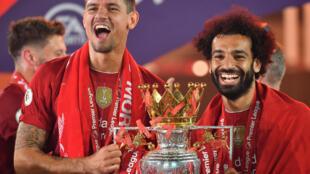 Liverpool defender Dejan Lovren (left) has joined Zenit St Petersburg