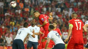 المنتخب التركي قدم أداء قويا وأحرز فوزا ثمينا على نظيره الفرنسي.