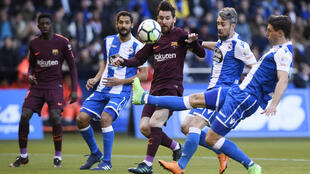 Deportivo La Coruna were playing against Barcelona in La Liga as recently as 2018 but have now been relegated to the third division