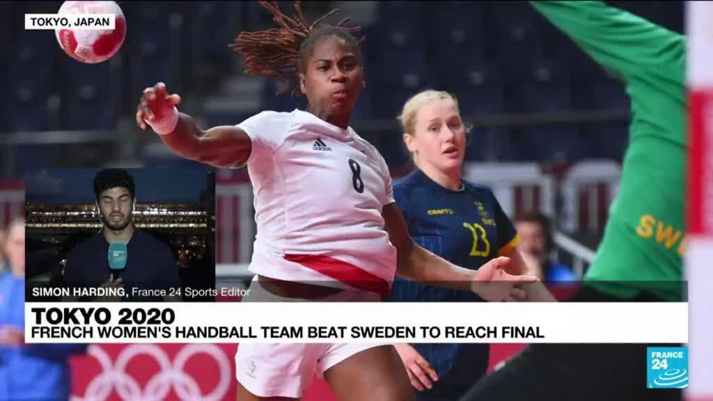 2021-08-06 12:00 Tokyo Olympic Games: French women's handball team beats Sweden to reach final