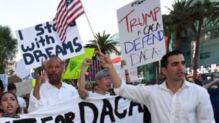 """Demostración en Nevada para apoyar a los """"dreamers"""""""