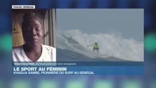 Khadija Sambe dans Afrique Hebdo