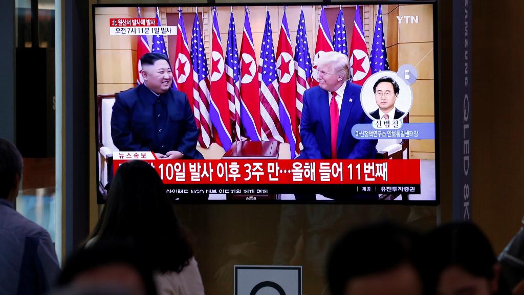 El misil llega días antes de la próxima cumbre entre Estados Unidos y Corea del Norte, programada para los días 4 y 5 de octubre.