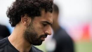 محمد صلاح ومنتخب مصر في مباراة رمزية أمام السعودية.