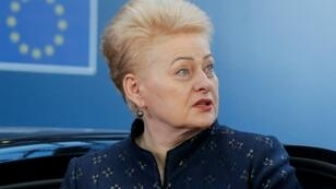 Nine candidates are vying to succeed Dalia Grybauskaite, who is stepping down after two terms as Lithuanian President