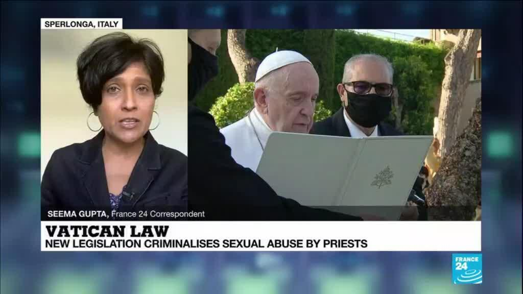 2021-06-01 14:01 New Vatican law criminalises sexual abuse by priest