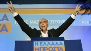Vangelis Meïmarakis a de fortes chances de devenir le prochain Premier ministre grec.