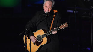 US singer-songwriter John Prine