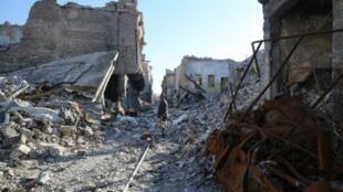 مدينة الموصل في 8 كانون الثاني/يناير.