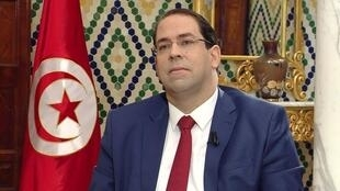رئيس الحكومة التونسية يوسف الشاهد