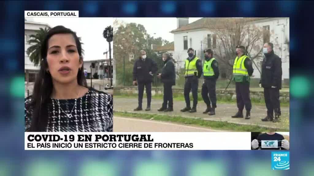 2021-01-31 18:05 Informe desde Cascais: Portugal inició estricto cierre de fronteras