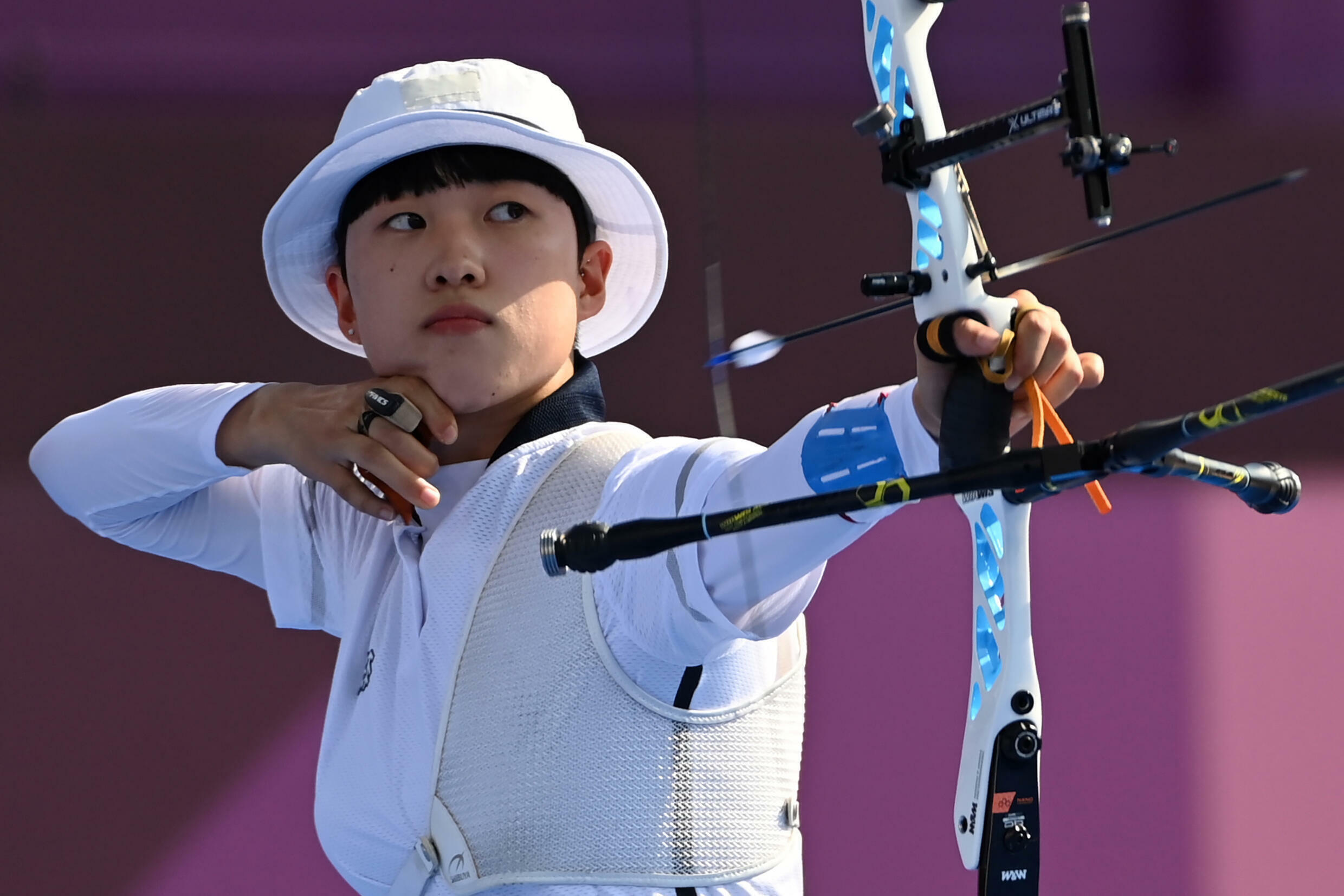 An San has won two gold medals in the women's team and mixed team events in Tokyo