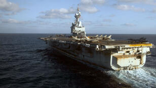 """Le déploiement du """"Charles-de-Gaulle"""" permettra de doubler le potentiel militaire français dans la région."""