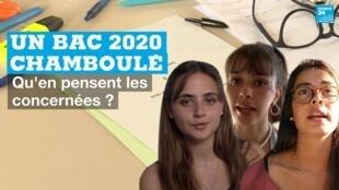En 2020, un bac chamboulé : Adèle, Leïla et Lila racontent