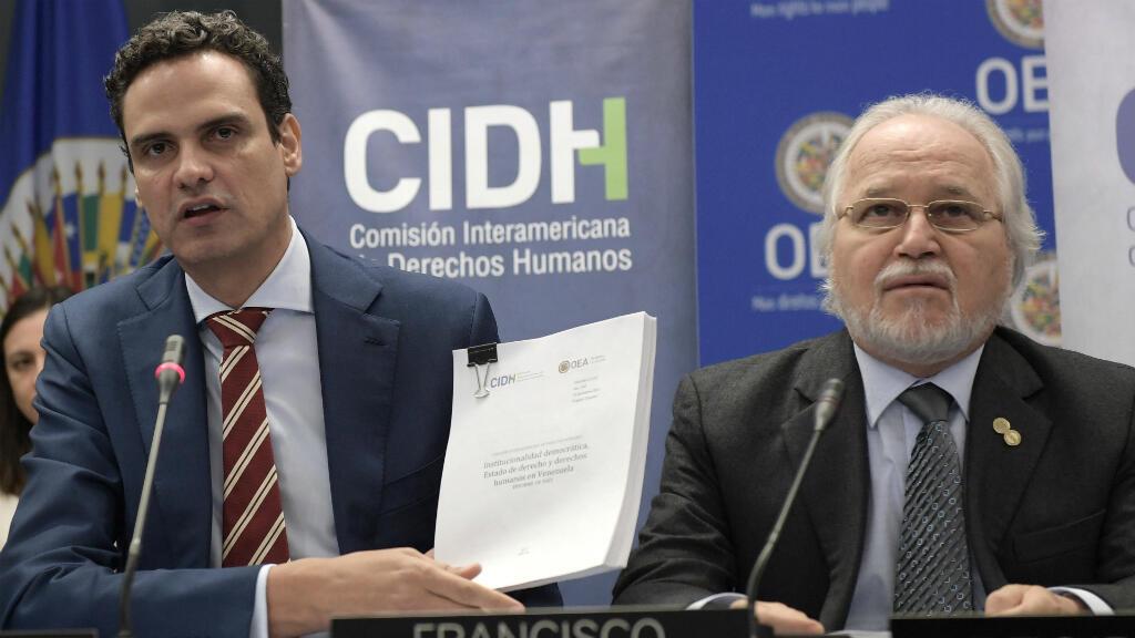 EL informe presentado por la CIDH, revela la preocupación por la parcialidad de algunas instituciones en Venezuela