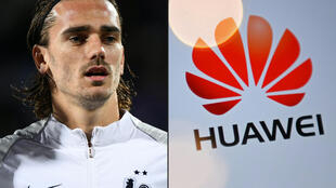 French footballer Antoine Griezmann urged Huawei to 'use its influence' to press for the respect of human rights in China.