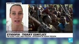 2020-11-18 08:01 Ethiopia's PM vows 'final and crucial' offensive in Tigray