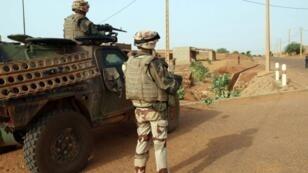 القوات العسكرية الفرنسية في مالي.