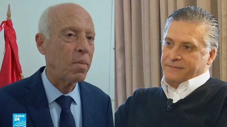 القروي وسعيّد.. على اختلافهما أقنعا التونسيين بمنحهما ورقة الدور الثاني من الانتخابات الرئاسية