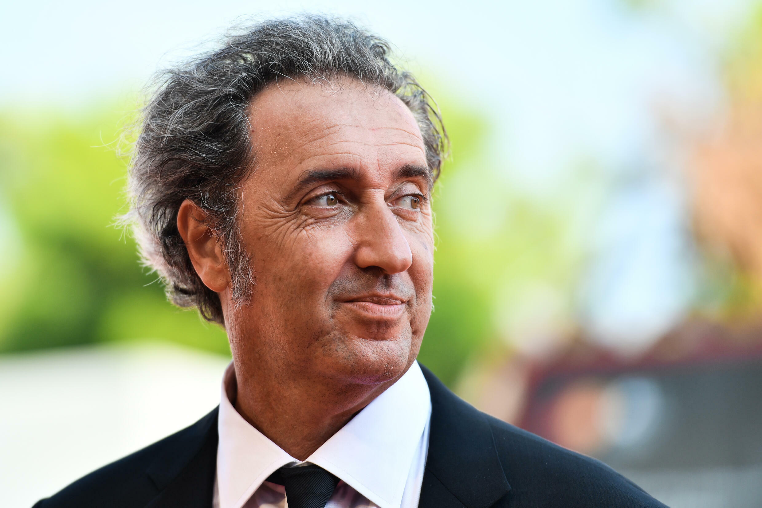 Italian director Paolo Sorrentino, on September 1, 2019 at the Venice Film Festival