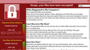 Le virus WannaCry a infecté plus de 200 000 ordinateurs