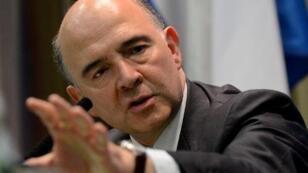 Le ministre de l'Économie Pierre Moscovici