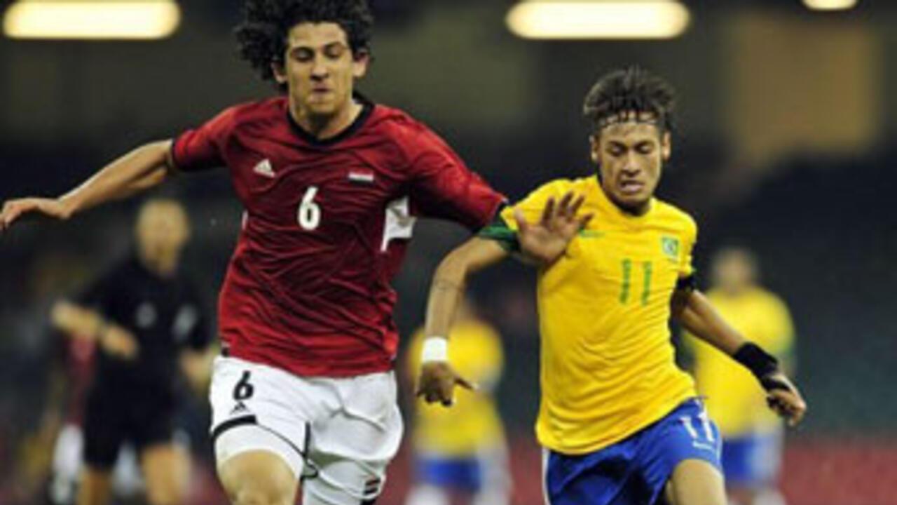 منتخب مصر ومنتخب البرازيل
